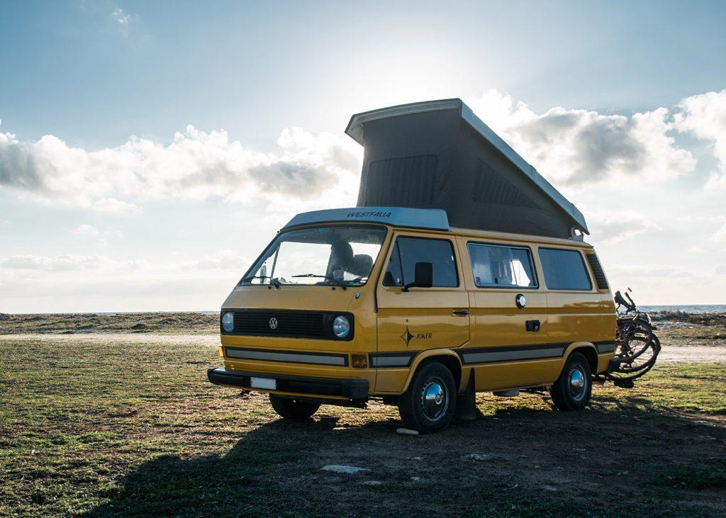 holiday rental campervan